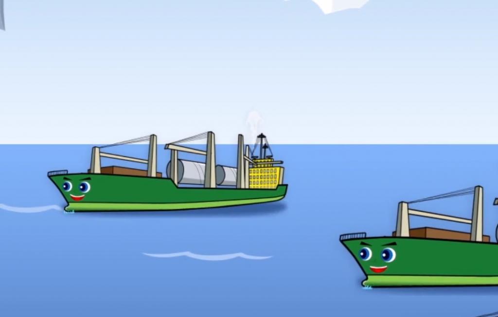 作品:中外运旗下产品动画广告片制作插图